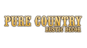 Pure Country Rustic Decor Logo